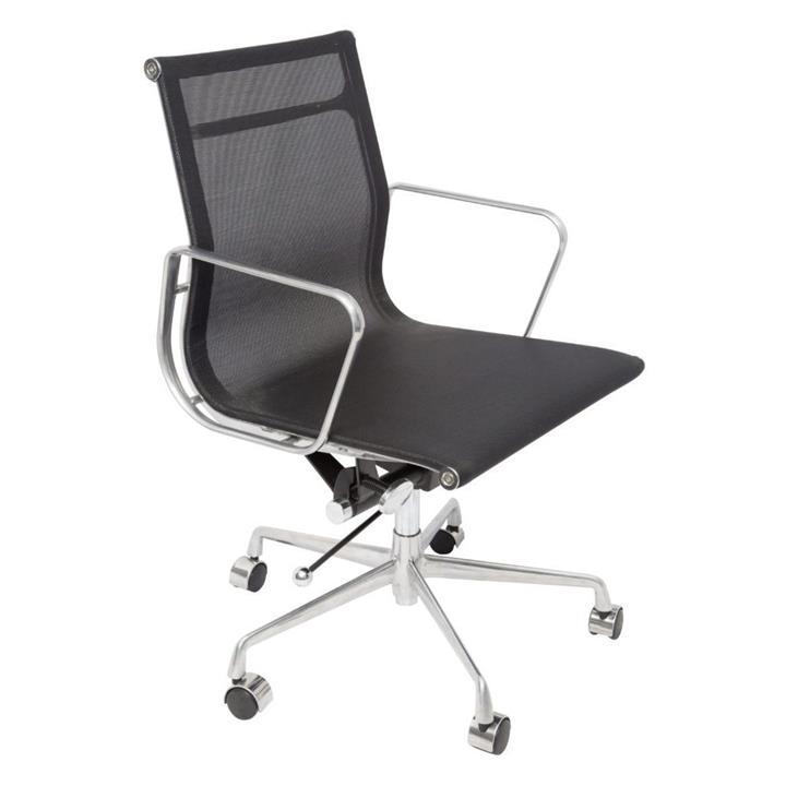 Agency Mesh Boardroom Office Chair - Black by Interior Secrets - AfterPay Available