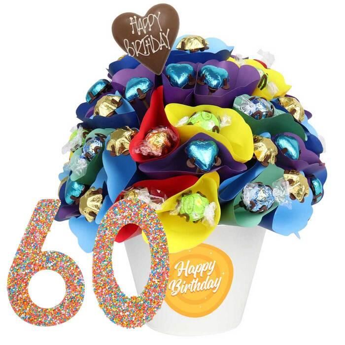 60 Large Birthday Chocolate Bouquet