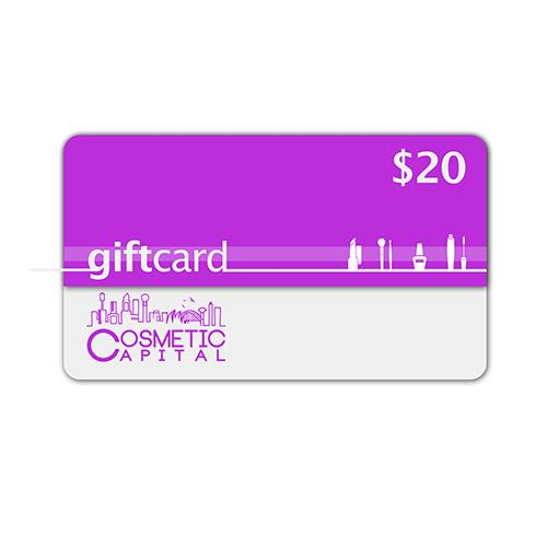 $20 E-Gift Voucher at Cosmetic Capital